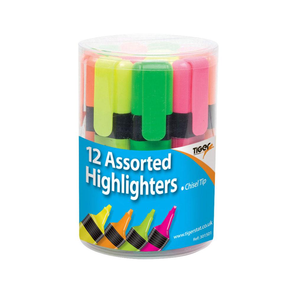 Highlighter Marker x 1 ~ Chisel Tip ~ Highlighter Pen ~ by Tiger